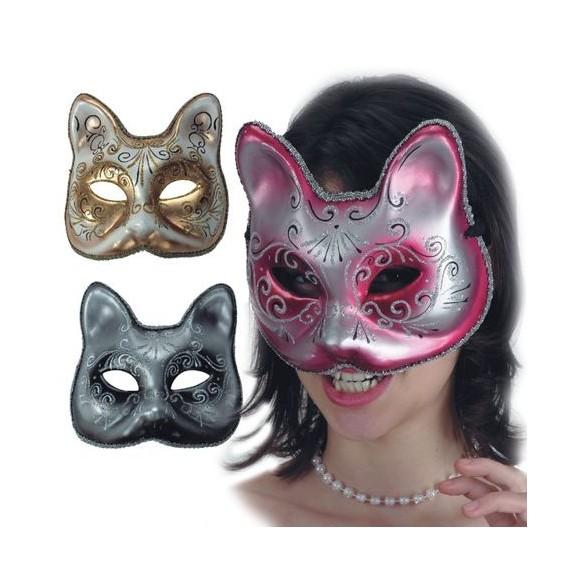 Masque loup Vénitien chat adulte