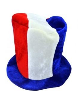 Chapeau tissu tricolore