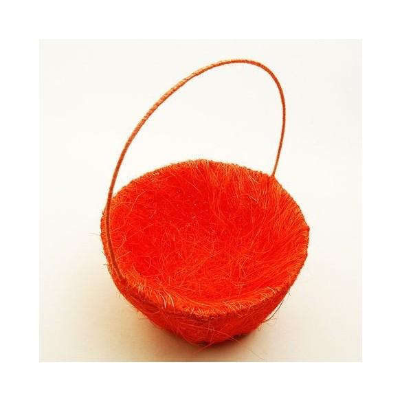 Panier sisal Orange