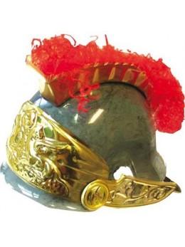 Casque Romain doré