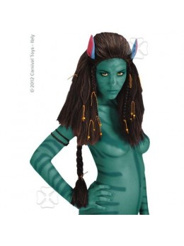 Perruque avatar Neytiri deluxe