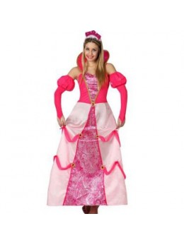Déguisement joli princesse rose