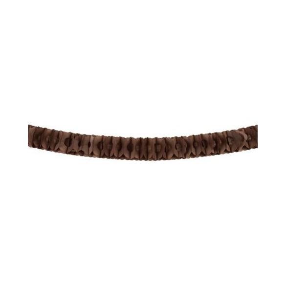 Guirlande papier ignifugée chocolat