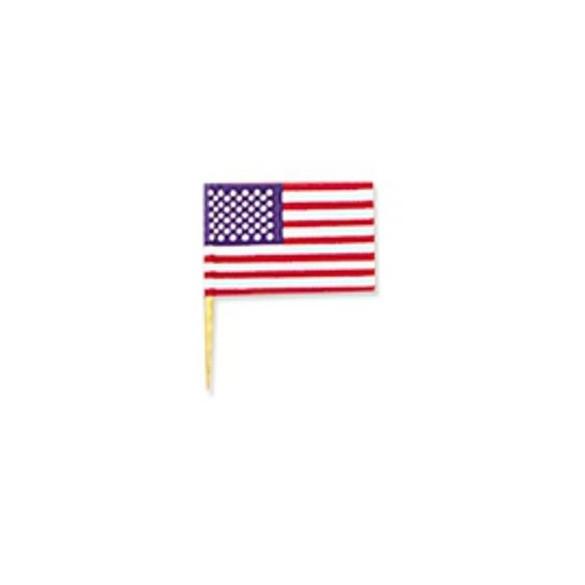 144 mini drapeaux USA
