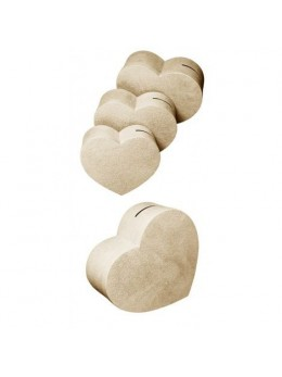 Grande urne coeur ivoire