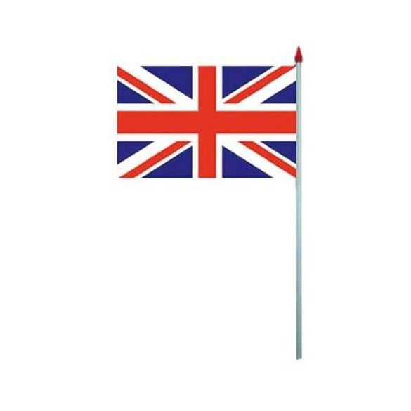 10 Drapeaux papier Royaume-Uni