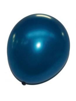 50 ballons bleu roi nacré
