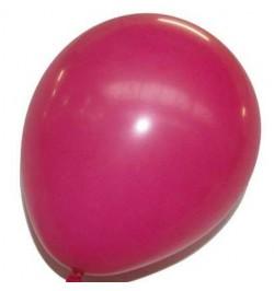 50 ballons fuchsia