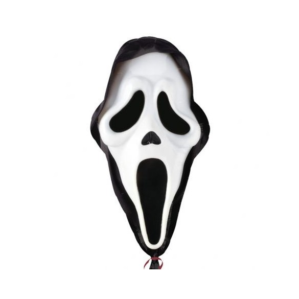 Ballon alu Scream 71cm