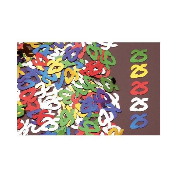 Confetti 25 ans
