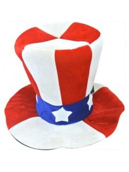 Chapeau américain oncle Sam Mousse