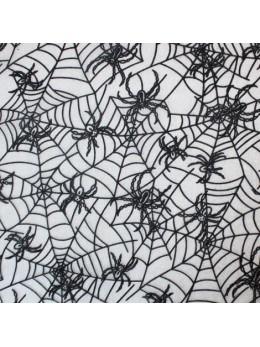 Chemin de table tulle toile araignée