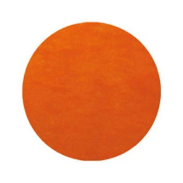 50 Sets de table rond orange