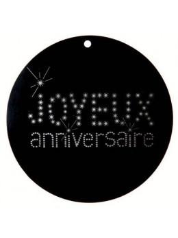 10 Marque place anniversaire VIP 10cm