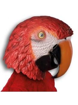 Masque latex adulte perroquet
