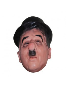 Masque latex adulte Chaplin
