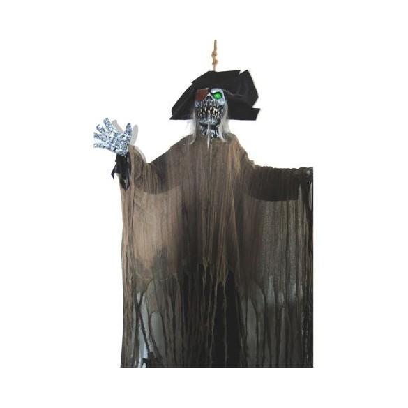 Déco squelette pirate 170cm