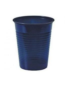 50 gobelets bleu foncé