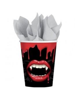 8 gobelets vampire