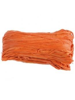 Raphia naturel orange