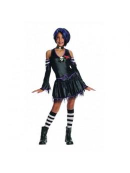 Déguisement enfant gothic girl Malice