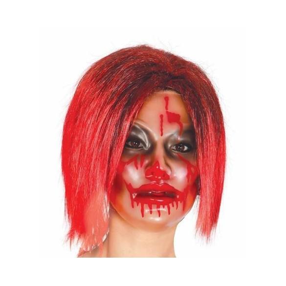 Masque horreur transparent femme