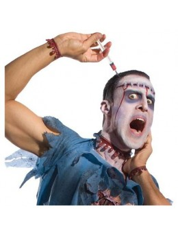 Serre tête seringue zombie