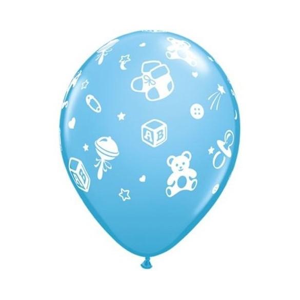 10 ballons Baby nursery