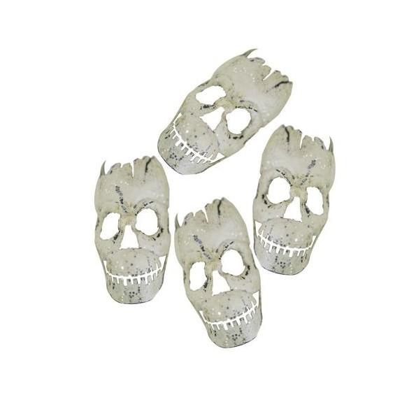 Sachet 10 têtes de mort Skull 4cm