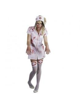 Déguisement infirmière ensanglantée