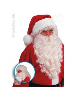 Perruque+barbe longue Père Noël
