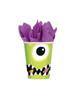 8 gobelets Halloween Boo