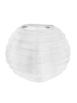 2 Mini lampions déco blanc