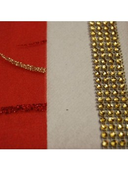 Ruban diamants or 2cm