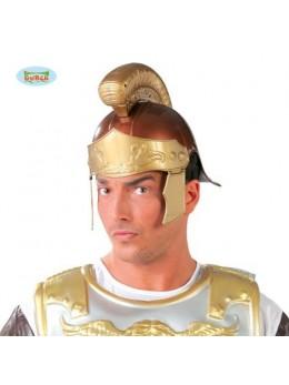 Casque Romain marron