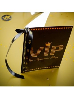 10 Cartes VIP Noir