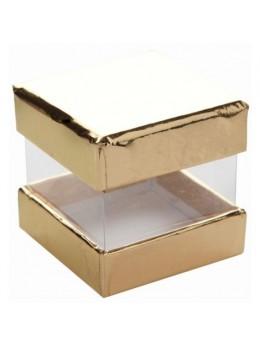 6 Boites cube or
