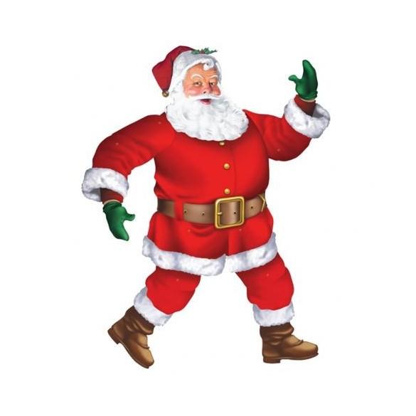 Déco Père Noël 1m