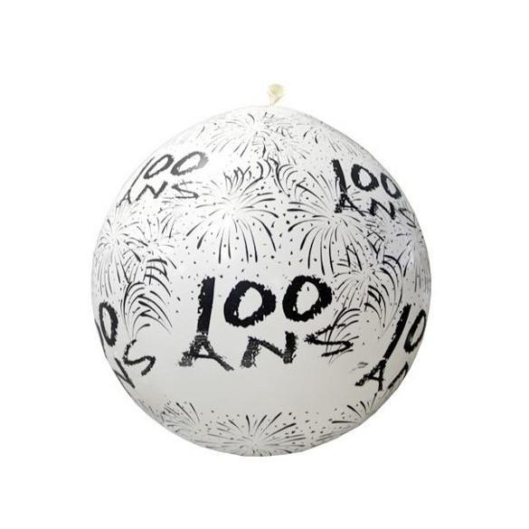 Ballon géant 100 ans