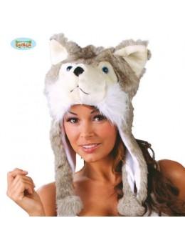 Bonnet fourrure Husky