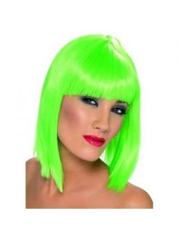 Perruque Glam Fluo Verte