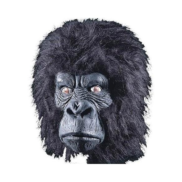 Masque de Gorille latex et poils