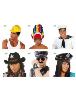 Pack Chapeaux Village People