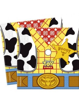 20 Serviettes Toy Story Star Power