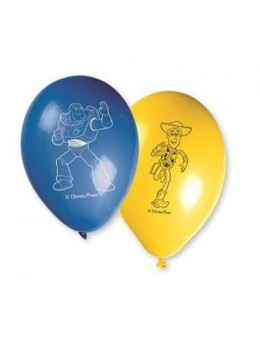 8 Ballons Toy Story 30cm