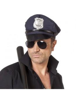 Casquette policier bleue