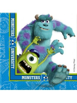 20 Serviettes Monster University