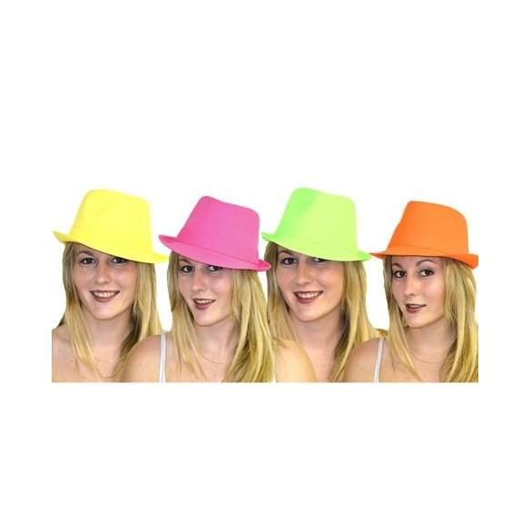 Chapeau Justin neon