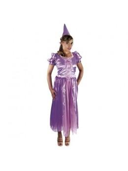 Déguisement princesse mélusine violette