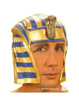 Casque Egyptien latex